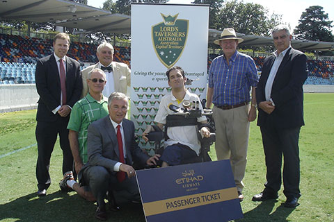 Lord's Taverners ACT Supports Blind Cricket